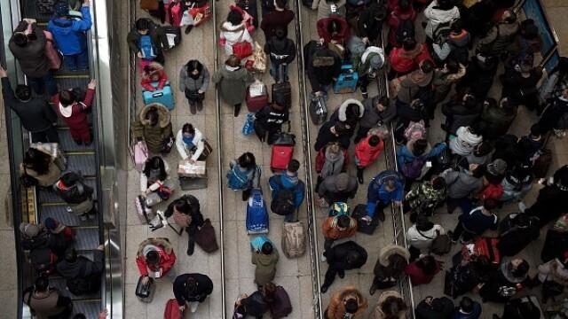 """A început """"cea mai mare migrație umană"""". Chinezii se întorc acasă de Anul Nou - Imaginea 3"""