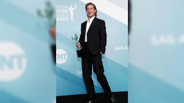 Premiile SAG. Brad Pitt și Jennifer Aniston s-au felicitat în culise - Imaginea 2