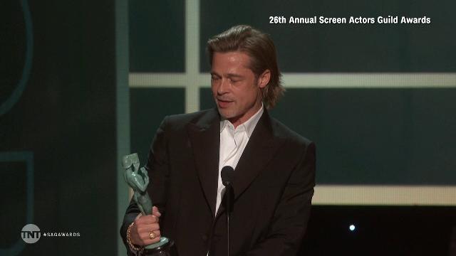 Premiile SAG. Brad Pitt și Jennifer Aniston s-au felicitat în culise - Imaginea 3