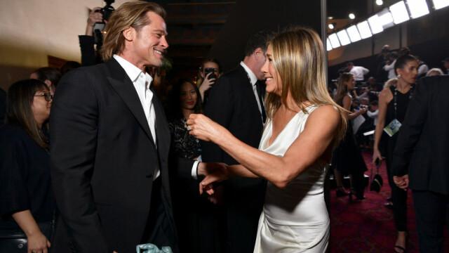 Premiile SAG. Brad Pitt și Jennifer Aniston s-au felicitat în culise - Imaginea 7