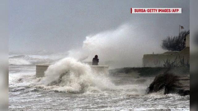 Spania este în alertă din cauza furtunilor violente. Cel puțin 4 oameni au murit - Imaginea 1