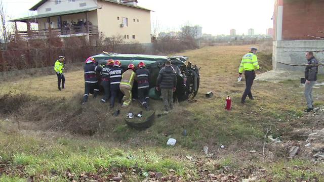 Elevul unei școli de șoferi, implicat într-un grav accident în timpul orelor de conducere - Imaginea 1