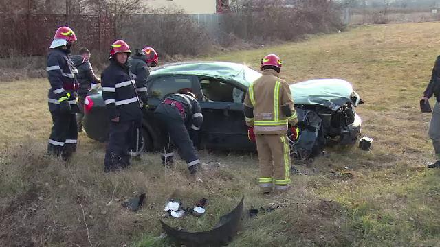 Elevul unei școli de șoferi, implicat într-un grav accident în timpul orelor de conducere - Imaginea 3