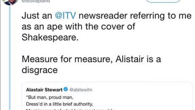 Prezentatorul TV nevoit să renunțe la cariera de 44 de ani din cauza unui mesaj pe Twitter - Imaginea 2