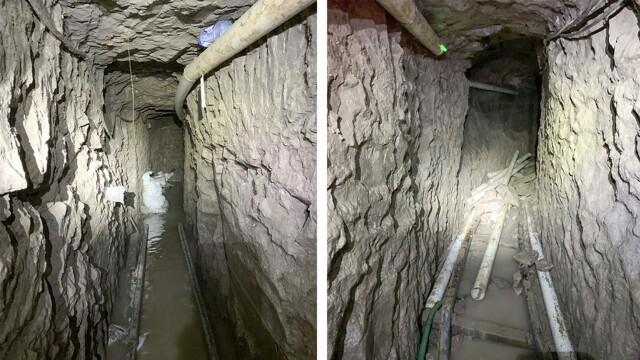Cel mai lung tunel folosit pentru traficul de droguri între Mexic și SUA. Ce se află în interior - Imaginea 2