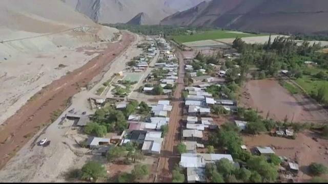 Inundații de amploare în deșertul Atacama, locul unde ploaia este o adevărată minune - Imaginea 1