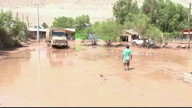 Inundații de amploare în deșertul Atacama, locul unde ploaia este o adevărată minune - Imaginea 3