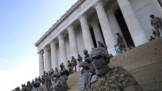 Mii de membri ai Gărzii Naţionale, desfăşuraţi pentru 30 de zile în Washington DC