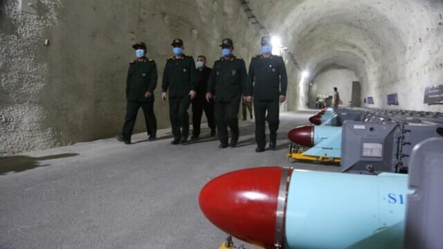 Iranul s-a dotat cu o nouă bază subterană de rachete de-a lungul coastei Golfului