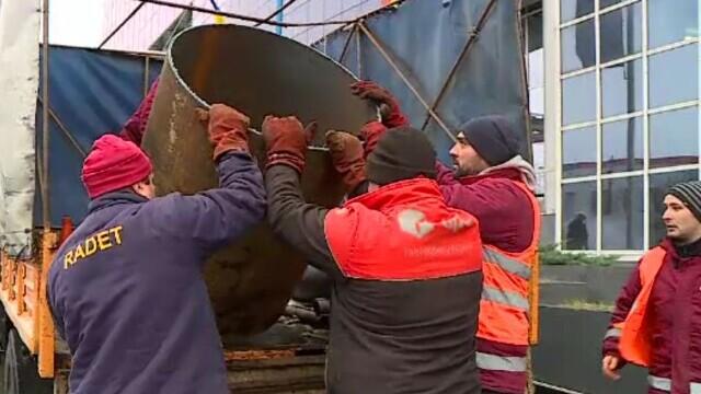 Sute de blocuri riscă să rămână în frig la primul ger. Țevile au și 40 de ani vechime