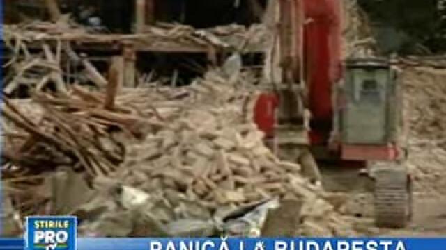 Bomba a provocat panică în capitala Ungariei