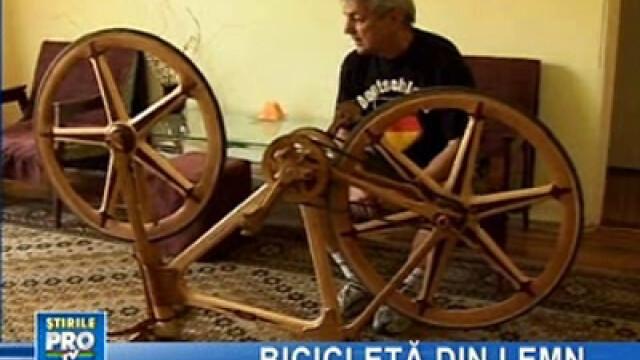 Bicicleta de lemn şi inventatorul ei