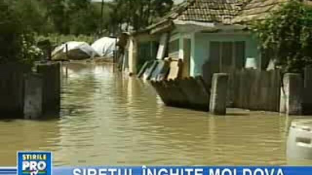 Inundaţii în Moldova