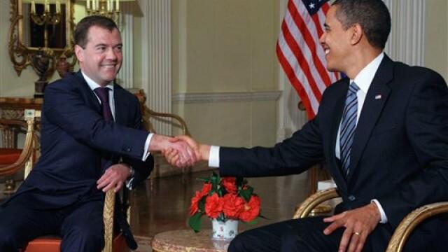 Obama si Medvedev