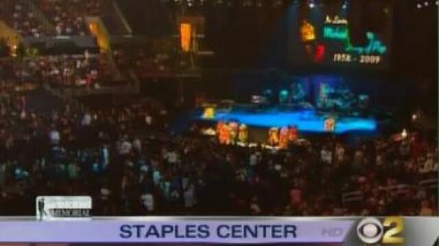 Lacrimi pentru Michael Jackson! Ceremonia de la Staples Center - Imaginea 13