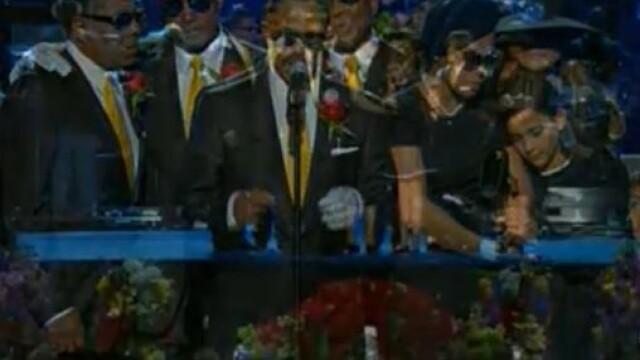 Lacrimi pentru Michael Jackson! Ceremonia de la Staples Center - Imaginea 31