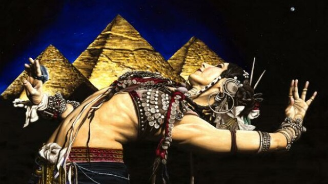 Dansul din buric al Piramidelor
