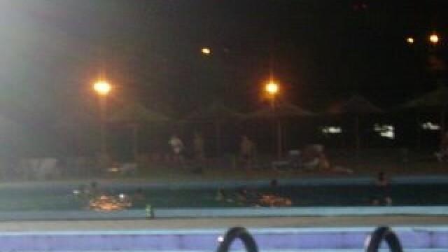 La strand, in nocturna! Asa au scapat bucurestenii de canicula!