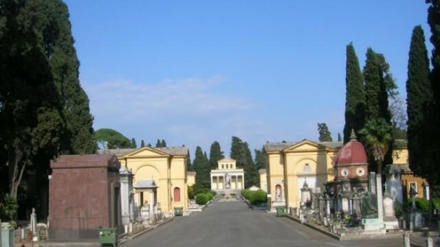 300.000 de euro costa un loc de veci, la cimitirul istoric din Roma!