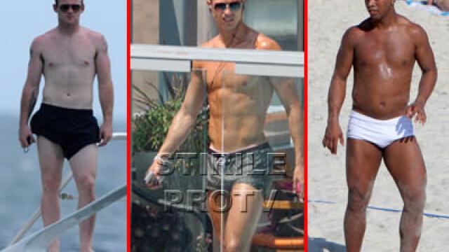 Ronaldo, Ronaldinho si Rooney profita din plin de vara