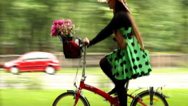 Cu bicicleta, prin Bucuresti