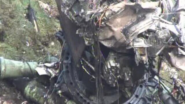 Cutia neagra a elicopterului prabusit in Bucegi nu a fost inca gasita