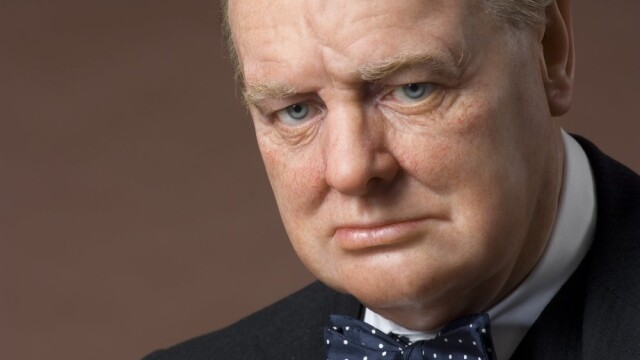 Churchill si Roosevelt, alaturi de Lenin si Mao. Ciopliti in piatra
