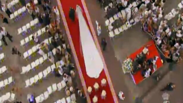 Monaco are o noua printesa. Lacrimi, zambete, emotii si parada modei la nunta verii. VIDEO si FOTO - Imaginea 8