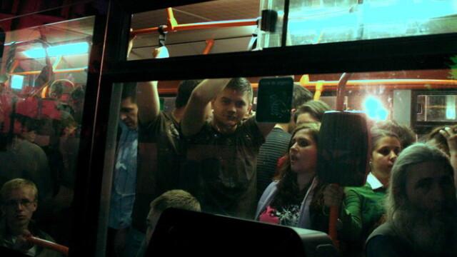 Prima noapte in care au circulat autobuzele prin Capitala. La RATB e inca neliniste