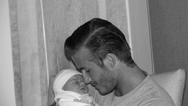 Prima fotografie cu fiica lui David si a Victoriei Beckham