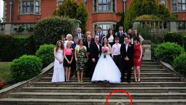 Aceasta este cea mai reusita fotografie din albumul lor de nunta. Cum arata celelalte imagini - Imaginea 5