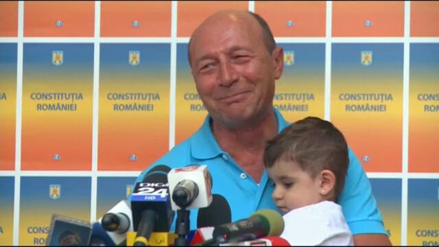 Basescu - copil