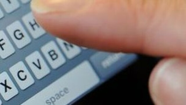 scriere SMS
