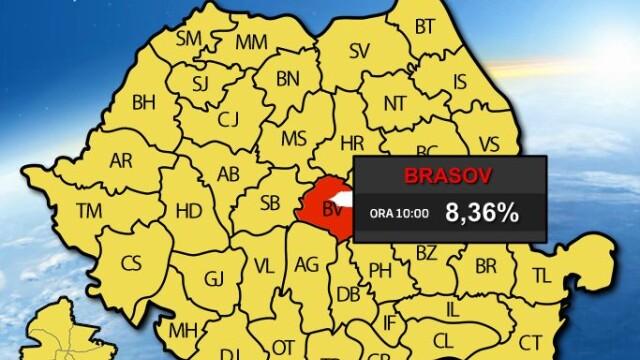 REFERENDUM 2012. Prezenta la vot la ora 23.00 a fost de 45,92 %, potrivit BEC. HARTA INTERACTIVA - Imaginea 4