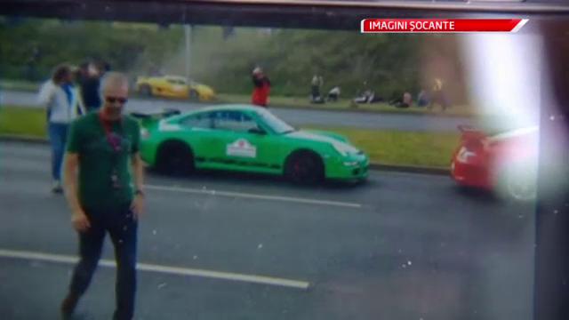 Imagini socante la un show auto din Polonia. 19 persoane au fost ranite de o masina sport