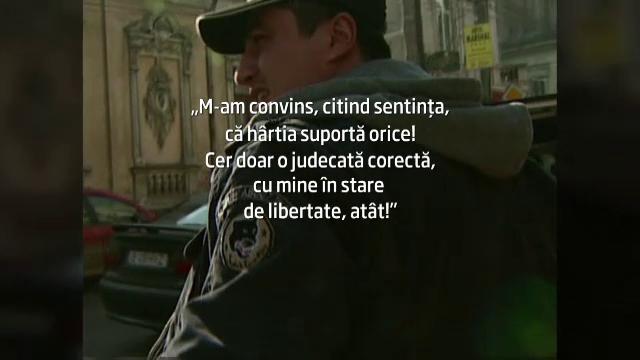 Declaratia lui Cristian Cioaca, dupa prezentarea in fata instantei: \