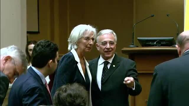 Isarescu, Lagarde