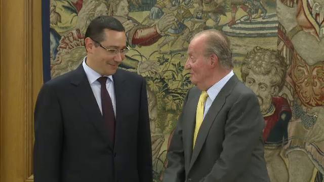 victor ponta regele spaniei
