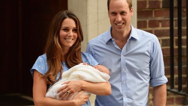 bebelusul, copilul lui Kate Middleton, la externarea din spital - 5