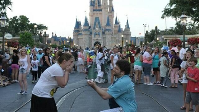 cerere in casatorie, Disney World