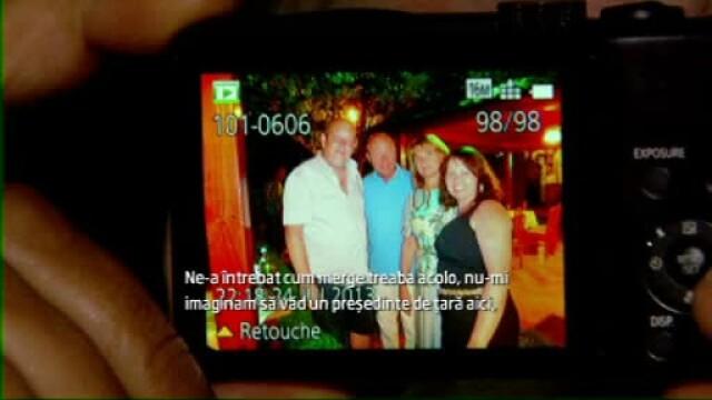 Presedintele Basescu a petrecut alaturi de sotie la restaurantul sau preferat din Neptun