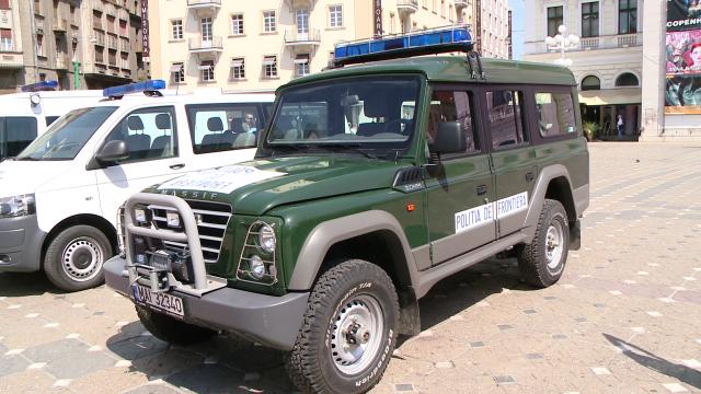 Cei 149 de ani de existenta ai Politiei de Frontiera Timis au fost sarbatoriti in Piata Operei. FOTO - Imaginea 8