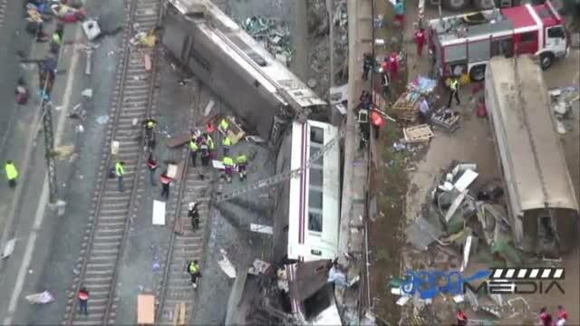 accident tren Spania