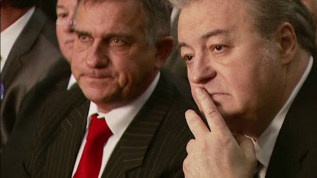 Scandal in PRM. Corneliu Vadim Tudor l-a dat afara din partid pe Gheorghe Funar. \