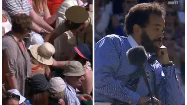Wimbledon, incident