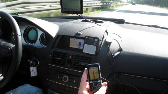 GPS in masina