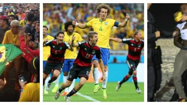 Steaguri arse si lupte de strada. Violente in Brazilia, dupa cosmarul din semifinalele Campionatului Mondial. GALERIE FOTO - Imaginea 10