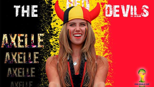 Ce i s-a intamplat unei tinere din Belgia dupa ce a mers la Campionatul Mondial. Acum o cunoaste o lume intreaga. FOTO - Imaginea 5