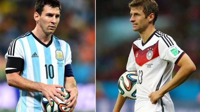 CAMPIONATUL MONDIAL DE FOTBAL 2014. Germania a invins Argentina cu 1 la 0. Mario Goetze i-a adus tarii sale al patrulea titlu - Imaginea 2