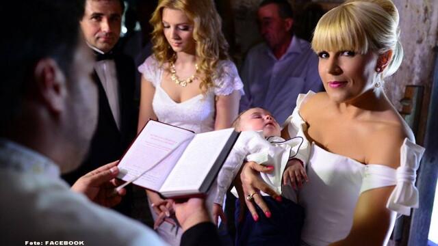 Elena Udrea l-a botezat pe fiul lui Adrian Gurzau, liderul PMP Cluj